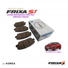 Kia Cerato K3 Front Premium Edition Frixa S1 Brake Pad