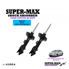 Hyundai Elantra MD Front Left And Right Supermax Gas Shock Absorbers