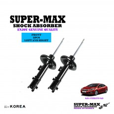 Kia Cerato K3 Front Left And Right Supermax Gas Shock Absorbers