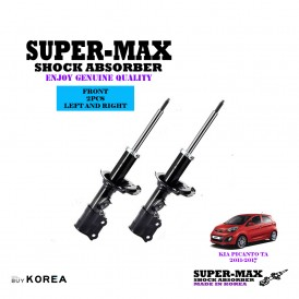 Kia Picanto TA 2011-2017 Front Left And Right Supermax Gas Shock Absorbers