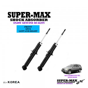Kia Sorento BL 2.5 2002-2009 Front Left And Right Supermax Gas Shock Absorbers